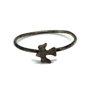 Sterling Silver Bird Silhouette Ring